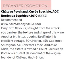 decanter peychaudspeciale2010
